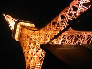 東京タワーとチーズフォンデュ
